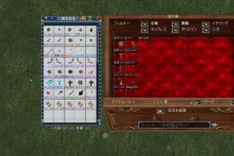 コンテナ&宝石箱のグリッドにアイテムのプロパティ等を表示。ClifeUI更新